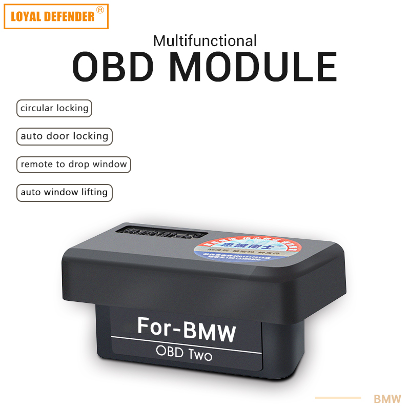 Auto OBD ii window lifting and folding mirror and sunroof close fit BMW car accessories or car module