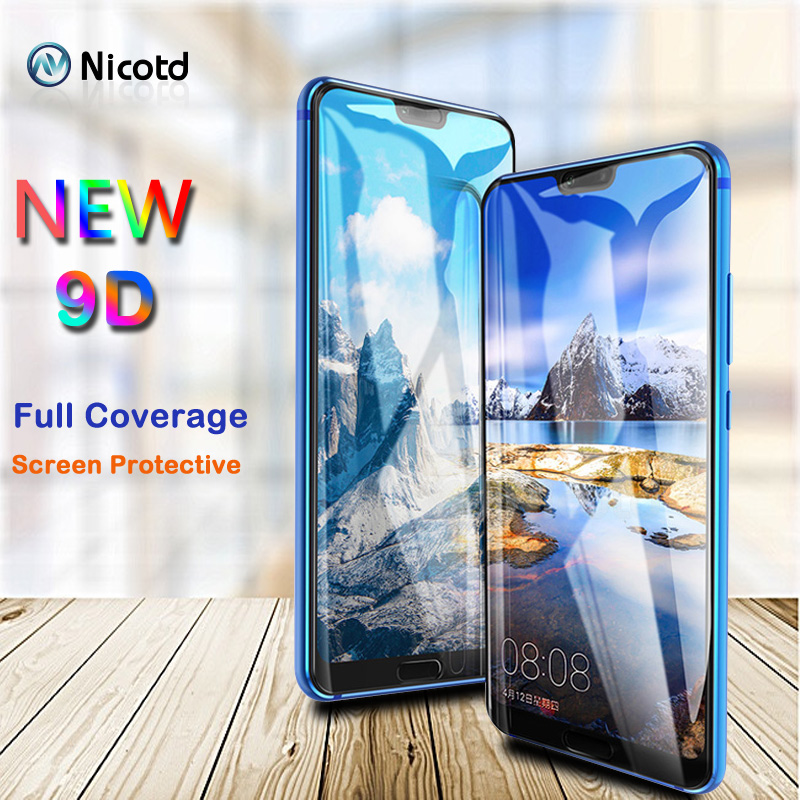 9D For Huawei Honor 8X MAX Tempered Glass Film For Honor 10 8X Full Cover Screen Protector For Huawei Honor 8X MAX 10