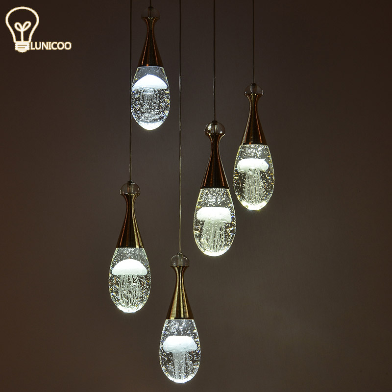 2017 jellyfish Pendant Light Modern acrylic for living room Hot sale LED  fashion Hanging Lamp with - Online Get Cheap Jellyfish Pendant Lights -Aliexpress.com