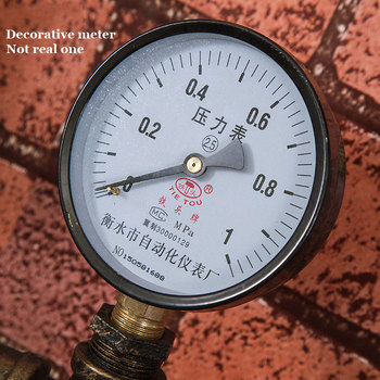 Vintage Retro Loft Industrieel Waterleiding Wandlamp 6