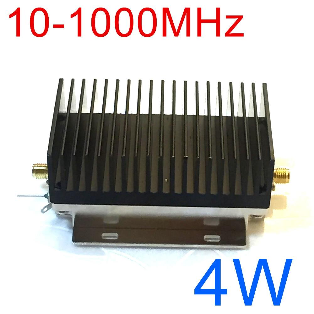 10-1000 MHz 4 W HF VHF UHF FM transmetteur RF amplificateur de puissance ampli pour Radio à ondes courtes Radio télécommande sans fil talkie-walkie