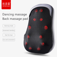 Back Waist Lumbar Adult Massager Beat Kneading Body Massage Chair Cushion Home Car Cushion Cover Physiotherapy