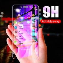 Anti UV Purple Blue Light Fingerprint Tempered Glass For Xiaomi Mi 9T Pro 9 8 SE Pocophone F1 Redmi Note 7 6 5 Pro