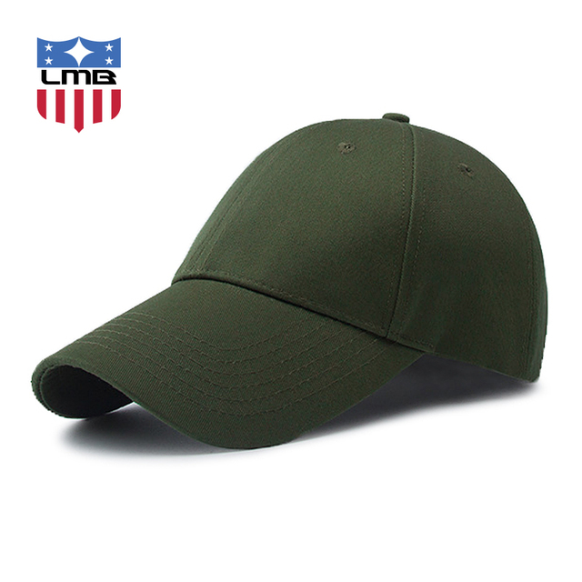 37aa5f360f3 LMB Army Green Curved Brim Unisex Hat Casual Travel Sport Polyester Cotton  Snapback Women Hats Summer Fashion Men Baseball Caps