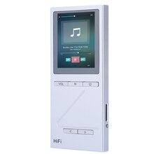 X5 Pocket HiFi Lossless Audio Reproductor de MP3 De Alta Fidelidad de Sonido 8G de Almacenamiento de Pantalla Digital