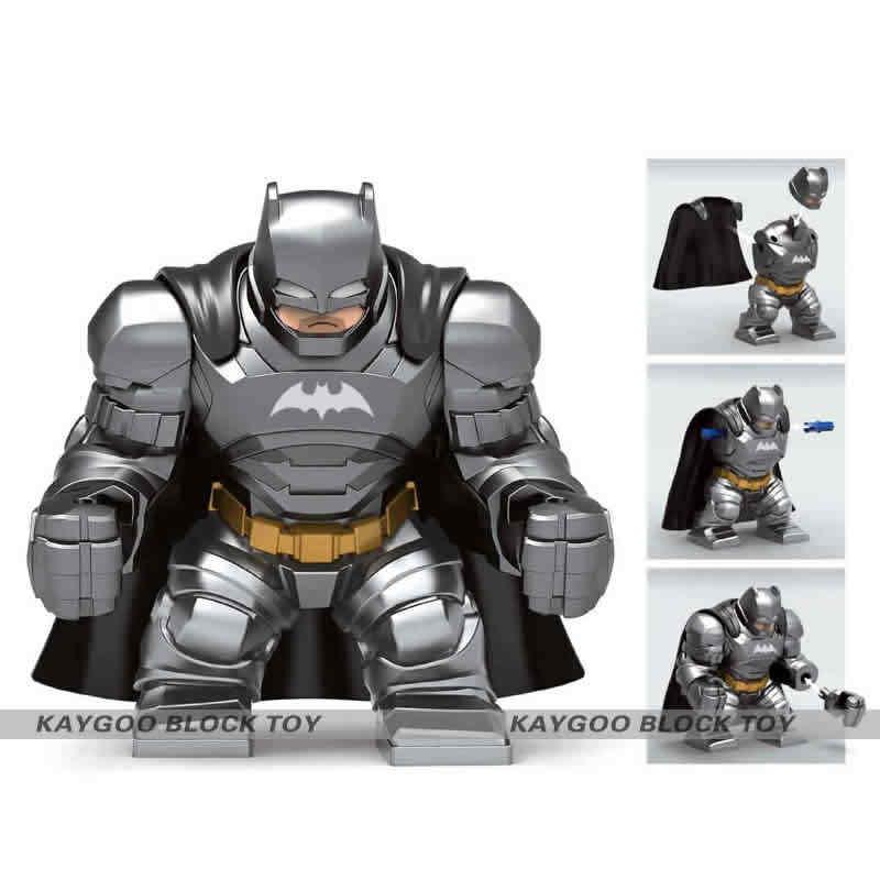 Супергерои Мстители распродажа Большие размеры анти Веном Дэдпул Riot CarnageThanos Халк Железный человек строительные блоки игрушки для детей