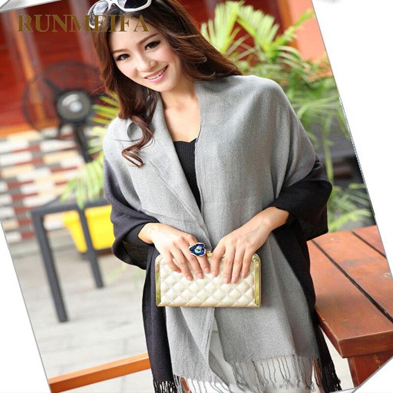 [RUNMEIFA] Venta al por mayor 2017New Fashion Winter Women Pashmina - Accesorios para la ropa - foto 3