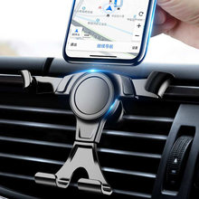 NAGFAK Universal Car phone holder For iPhone Samsung Xiaomi Huawei Phone Holder Gravity Air Vent Clip Mount Cell Stand Support(China)