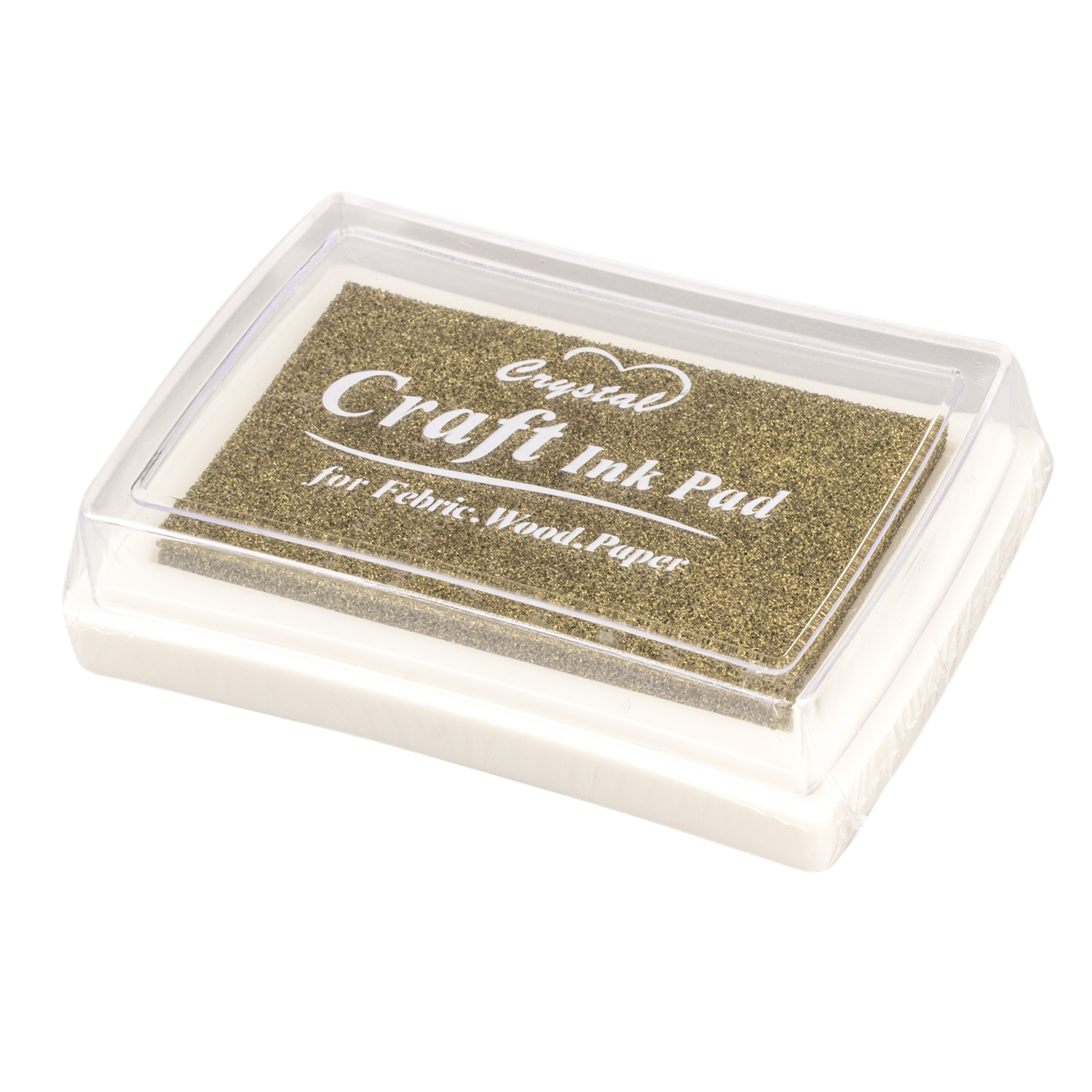 SOSW-Rubber Stamp Ink Pad Stamp Inkpad Ink Pad - Gold