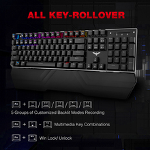 Red Switch LED RGB Gaming Keyboards