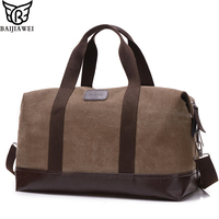 BAIJIAWEI 2017 New Men S Handbag Casual Canvas Shoulder Bag Large Capacity Canvas Men S Travel