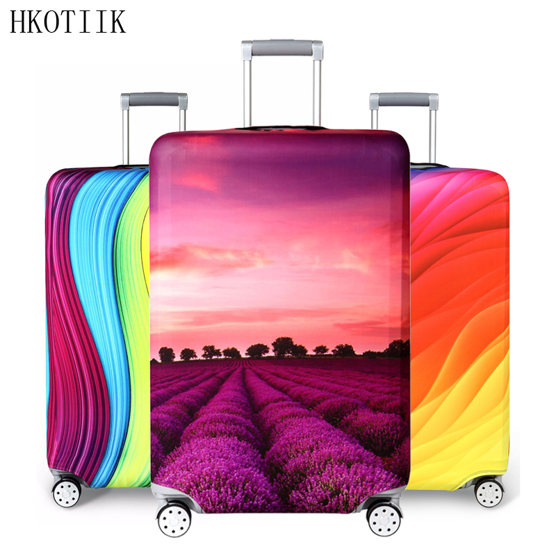 HKOTIIK Brand suitcase elastic protective cover luggage cover travel accessories 18 to 32 inch travel trolley suitcase case H125