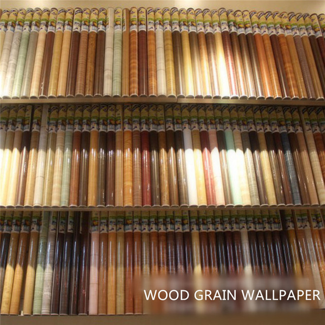 aliexpress.com : acquista wood grain sticker carta autoadesiva per ... - Carta Da Parati Adesiva Per Bagno