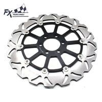 FX CNC Motorcycle 320mm Floating Front Brake Disc Rotor Aluminum For KTM DUKE 125 200 390