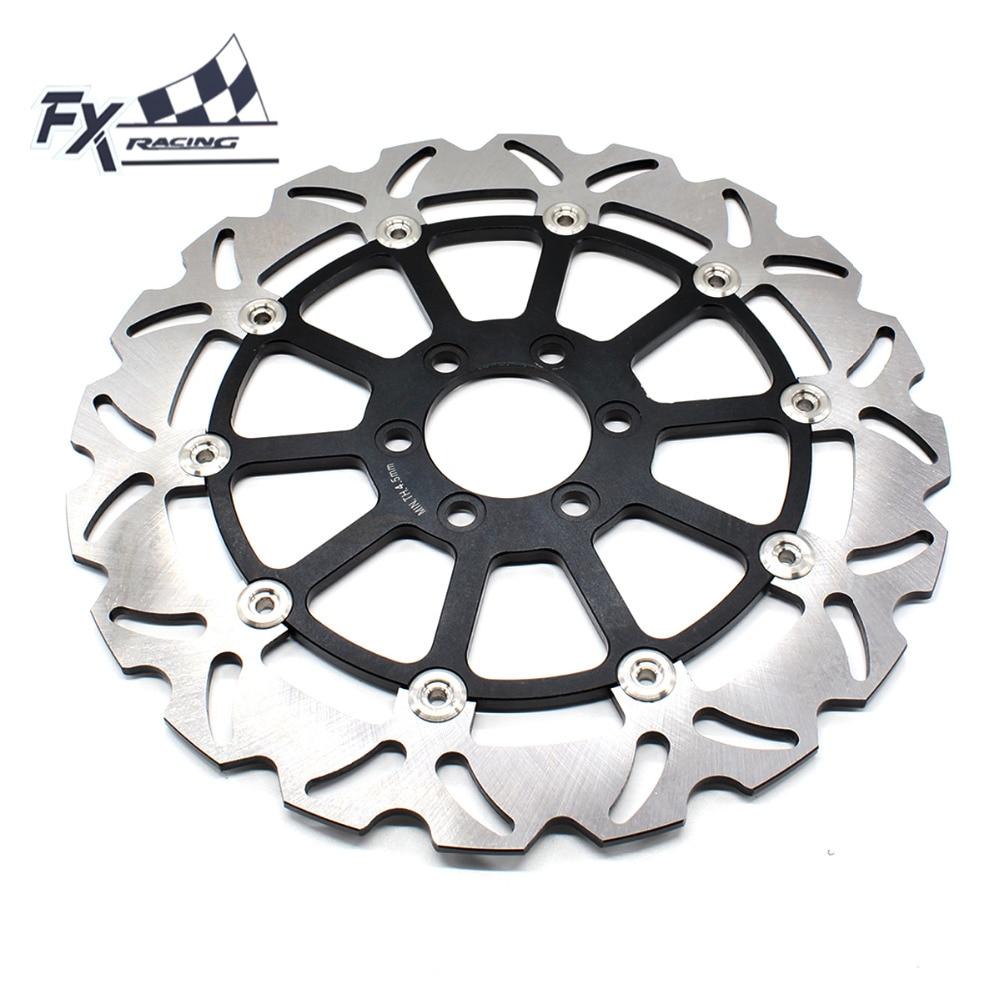 FX CNC Moto 320mm Flottant Rotor de Disque De Frein Avant En Aluminium Pour KTM DUKE 125 200 390 DUKE390 2012 2013 2014 2015 2016