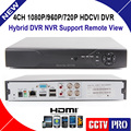 4CH HDCVI DVR HD-CVI CVR with HDMI & VGA Output 4CH 1080P 720P Real time Recorder For HD CVI Camera Remote View Smartphone View