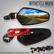 7/822 Universal Motorcycle Rearview Mirror Rear View Handle bar End Side for yamaha X-MAX XMAX 125/200/250/400 XMAX300