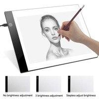 Светодиодный графический планшет написания картины световой короб распределительный щит копия колодки цифровой планшет для рисования ...