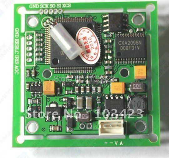 """1/3""""   540TVL SONY CCD Camera Board, PCB Board Camera(3172+639),Free Shipping"""