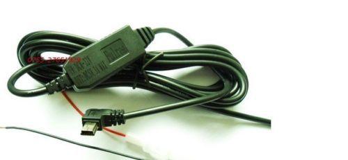 1 Pcs Step down Converter Regulator DC-DC 12V to 5V 3A 15W Bent Mini USB vs 1M Cable (Fulree2203-MiniUSB1M-WT)