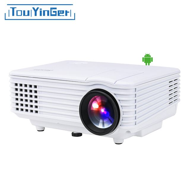 Cheap TouYinger EC77 BT905 LED multimedia Mini Portable Projector ( Android ) Home Theater ATV beamer Full HD video portable LCD RD805
