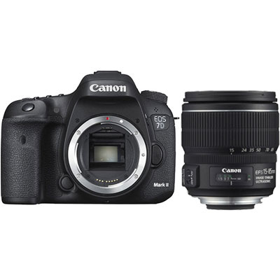 Canon EOS 7D Mark II DSLR Camera Body with EF-S 15-85mm f3.5