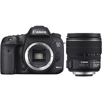 Canon EOS 7D Mark II boîtier d'appareil photo reflex numérique avec EF-S 15-85mm f3.5-5.6 est l'objectif USM