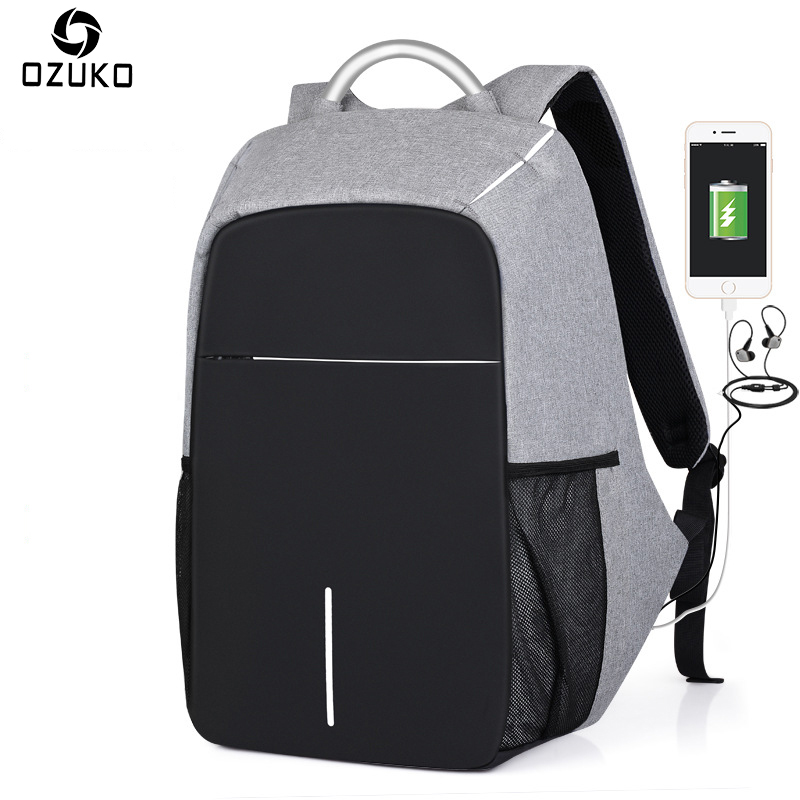 Backpack, Travel, Laptop, OZUKO, Bags, inch