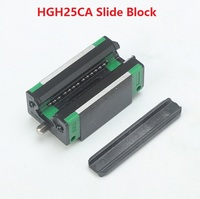 2pcs HGH25CA Slider Block Match Use HGR25 25MM Linear Guide Rail CNC DIY Parts