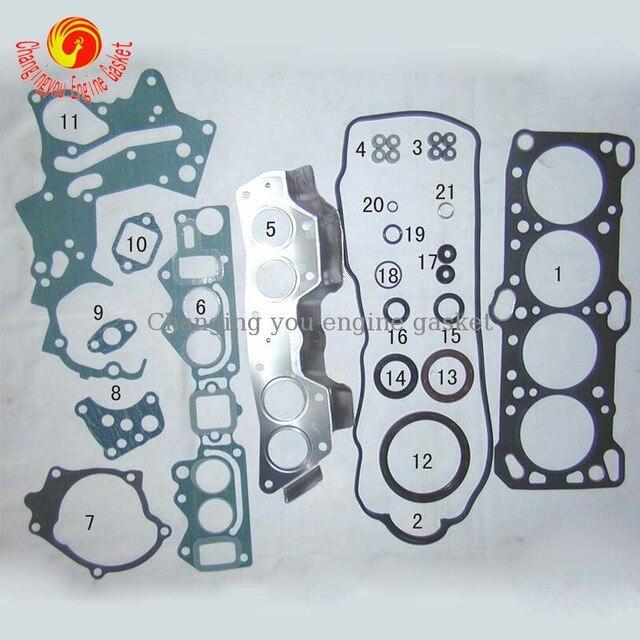 4G63 P03 Für MITSUBISHI PAJERO Automobil Ersatzteile Vollen Satz ...