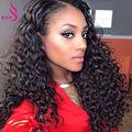 Peruvian Virgin Deep Wave Hair With Closure 4 Bundles With Closure Hair Weave Closures Peruvian Virgin Hair With Closure Curly