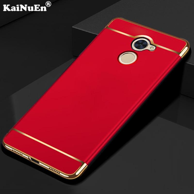 Coque Abdeckung Billiger Preis Kainuen Luxus Original-phone Protector Zurück Etui Fall Für Huawei Y7 Prime Genießen 7 Plus Hartplastik Zubehör Pc