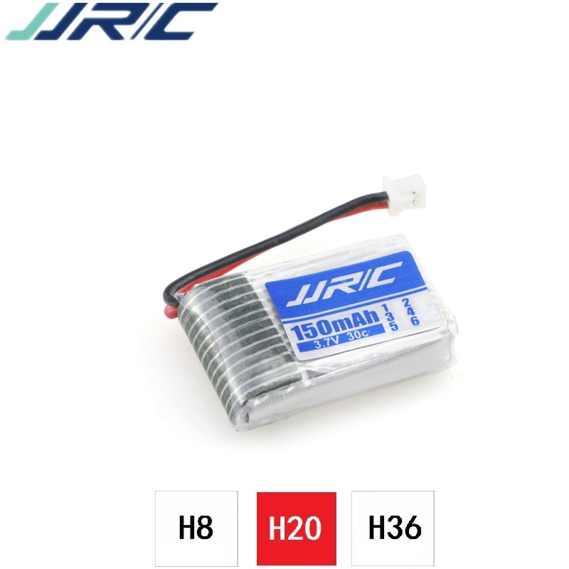 3.7v 150mah 30C For jjrc H20 U839 S8 M67 Battery RC Quadcopter Spare parts 3.7v LIPO Battery for H20 Battery for toy Helicopter 2016 hot sell 1pcs lipo battery 7 4 v 1200mah 30c for mxj x101 quadcopter spare parts made in china free shipping
