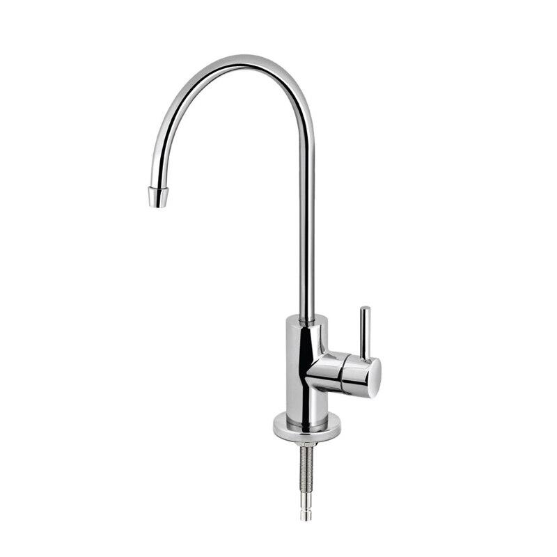 Robinet de filtre à eau potable de cuisine, robinet de boisson sans espace d'air adapté à la plupart des unités RO ou système de Filtration de l'eau, Tube de 1/4 pouces