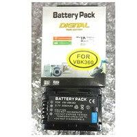 VW VBK360 VW VBK360 lithium batteries pack VWVBK360 For Panasonic HDC HS80 SD40 SD60 SD80 SDX1 SDR H100 H85 H95 HS60 HS80 TM60