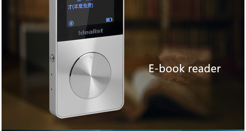 Idealist HIFI Metal MP4 Player Reproductor Outdoor Sport MP3 Radio Music Game Player Voice Recorder Ebook Walkman with Speaker 21