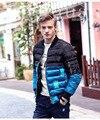 Fanzhuan Бесплатная Доставка Новая Мода повседневная мужская мужской Мягкий толстый тонкий пальто куртка Метросексуал Вышитые Бейсбол воротник 610166