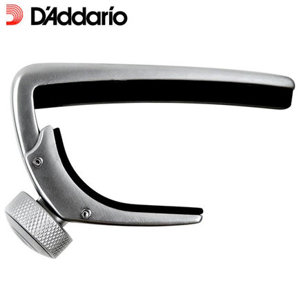 D'addario Planet Waves PW-CP-02 NS Guitar Capo, Black or Silver Capotraste planet waves pw ct 17gn