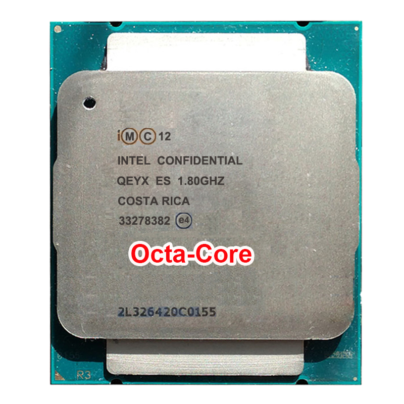 Engineering sample of Xeon E5-2630Lv3 ES QEYX CPU 1.8GHz E5 V3 2630LV3 2011 v3 LGA 2011-v3 Xeon v38 core 16 thread PROCESSOR 70W