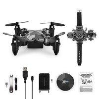 Hot Mini Drone dh800 2.4G 4CH 6 Axis WIFI FPV Camera 0.3MP Portable Drone RC Quadcopter Watch Style Mini RC UFO Pocket Drone