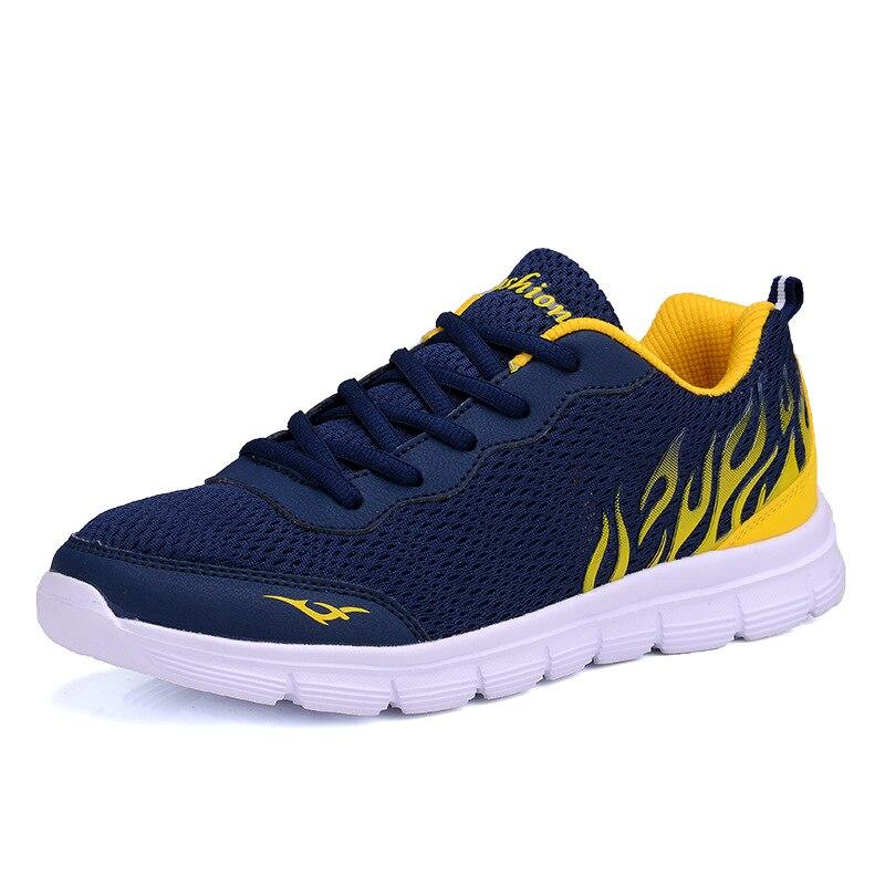 Большие размеры 38-45 Для мужчин Обувь 2017 Летняя обувь из сетчатого материала Для мужчин обувь модные дышащие Кружево до Туфли без каблуков повседневная обувь Для мужчин кроссовки