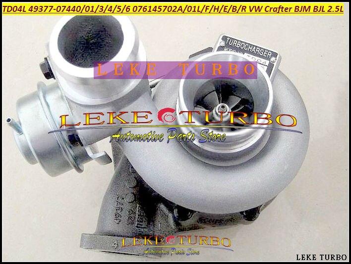 TD04L 49377-07440 49377-07401 076145702A 076145701L Turbo Turbocharger For VW Crafter 2006- BJM BJL R5 2.5L TDI LT3 Euro4 2.5L (2)