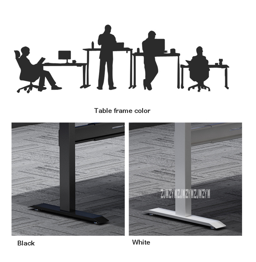 Новинка 1,8 м электрический умный стол компьютерный стол регулируемый портативный ноутбук подъем стола компьютерный стол 110 V-220 V 53W 73-117cm