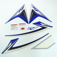 For Yamaha YZF1000 R1 Years 2009 2010 2011 2012 Motorcycle Whole Vehicle Full Kit Sticker High Quality MOTO Styling