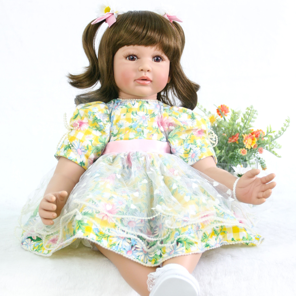 New product big eyes Princess doll gift Silicone Reborn Baby Doll Toys Lifelike Babies Boneca cloth body soft Dolls Bebe Reborn New product big eyes Princess doll gift Silicone Reborn Baby Doll Toys Lifelike Babies Boneca cloth body soft Dolls Bebe Reborn