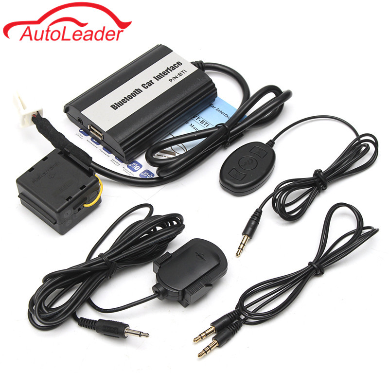 Car Bluetooth Music Hands-Free Stereo Cable USB SD AUX Car MP3 Music Player Adapter Interface For TOYOTA/LEXUS automotive supplies bluetooth hands free system music player car charger f launch vehicle p3