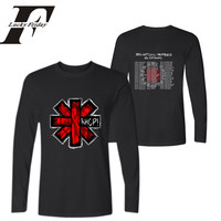 Luckyfriday Rock Band Red Hot Dhili Peoppers Long Sleeve T Shirt Tour 2017 Men S T