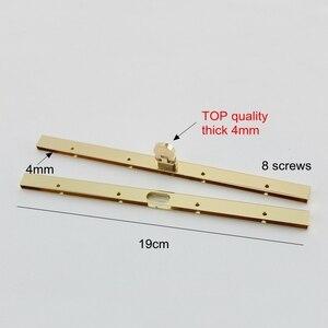 """Image 2 - 4 шт. 4 вида цветов Accep Mix, высокое качество 19 см 7,5 """"металлический кошелек Рамка застежка для сумочки принадлежности для бумажника сумки letaher товары scewing"""