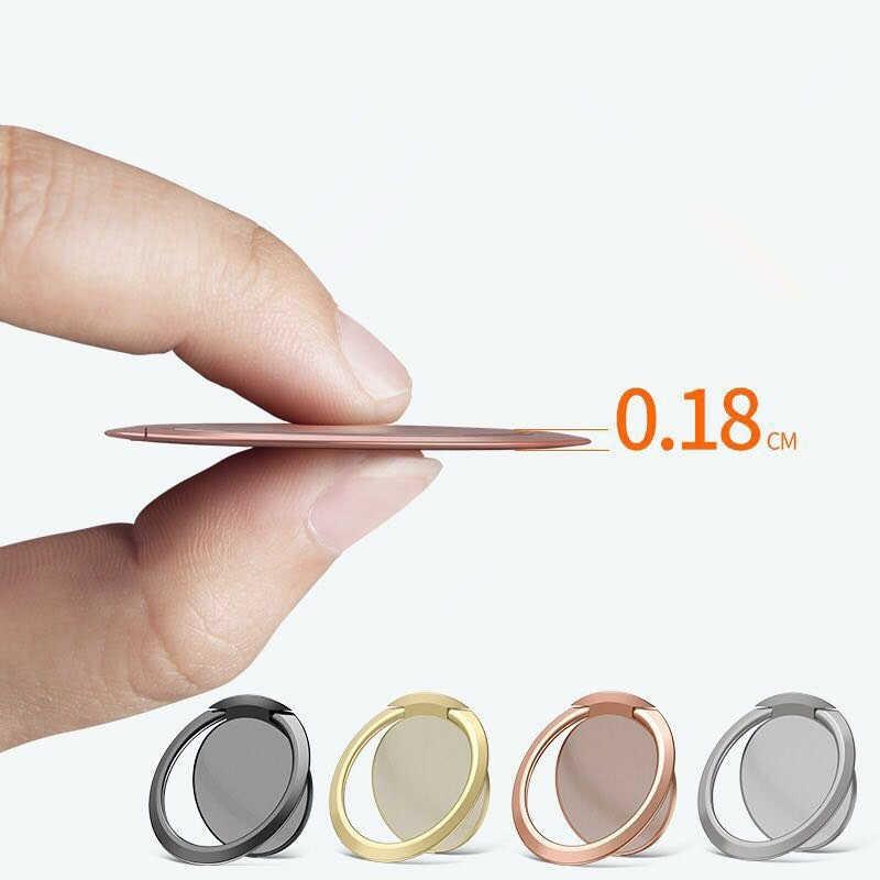 Anel de dedo Do Smartphone Telefone Móvel Stand Titular Para o iphone X MAX 8 7 6 6 S Plus 5S Telefone Inteligente MP3 Estande anel titular Do telefone Do Carro