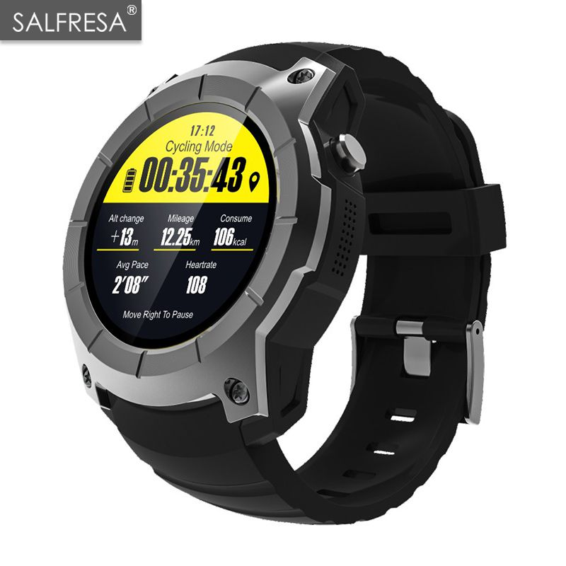 SALFRESA GPS Smart Watch S958 Pedometer Fitness Tracker Heart Rate Monitor Smartwatch Sports Waterproof Watch Support SIM TFSALFRESA GPS Smart Watch S958 Pedometer Fitness Tracker Heart Rate Monitor Smartwatch Sports Waterproof Watch Support SIM TF
